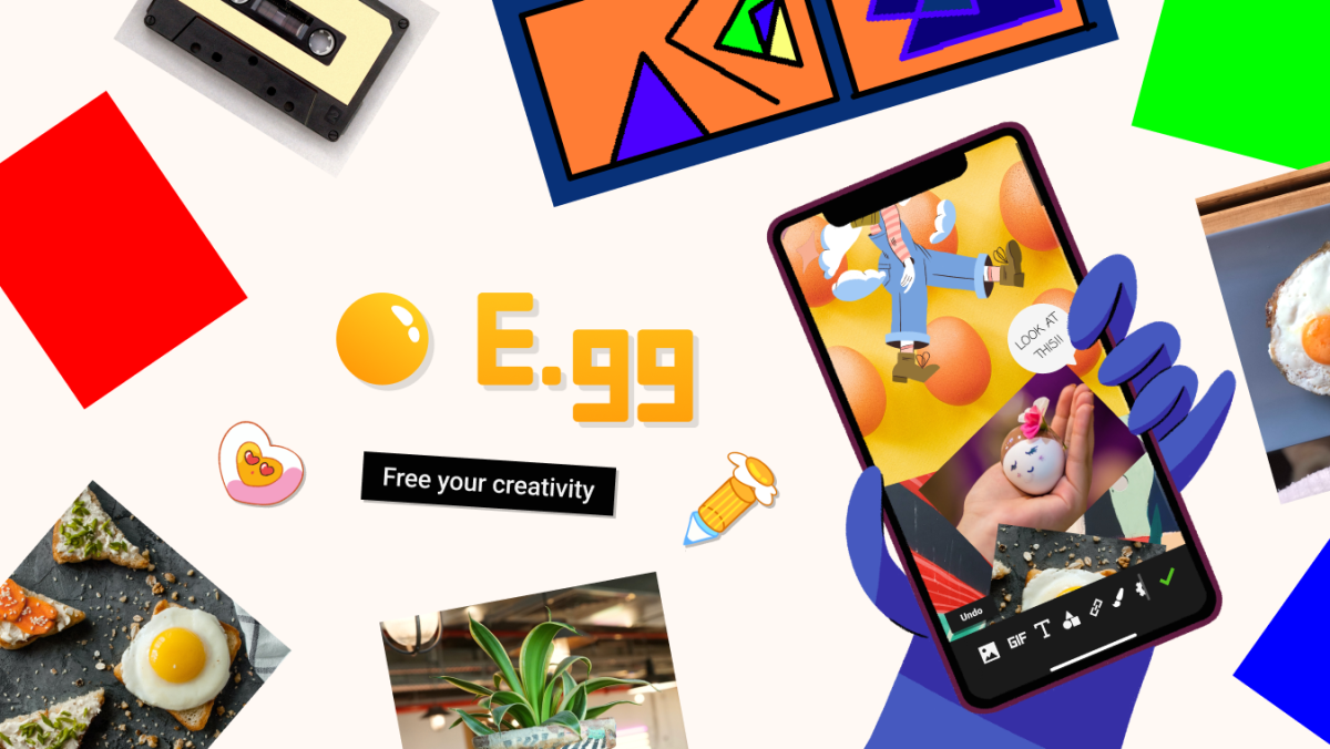E.gg - Free your creativity